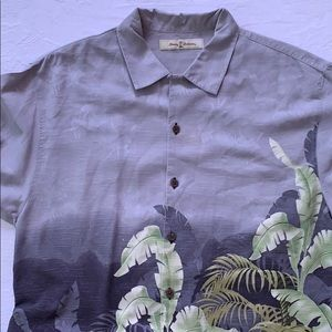 Like New Tommy Bahama 100% silk shirt